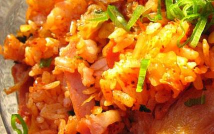 Riz au chou épicé à la coréenne - Photo par dorian_nieto