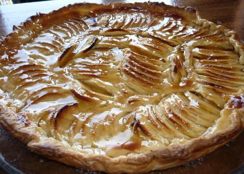 Tarte alsacienne aux pommes - Photo par looklady