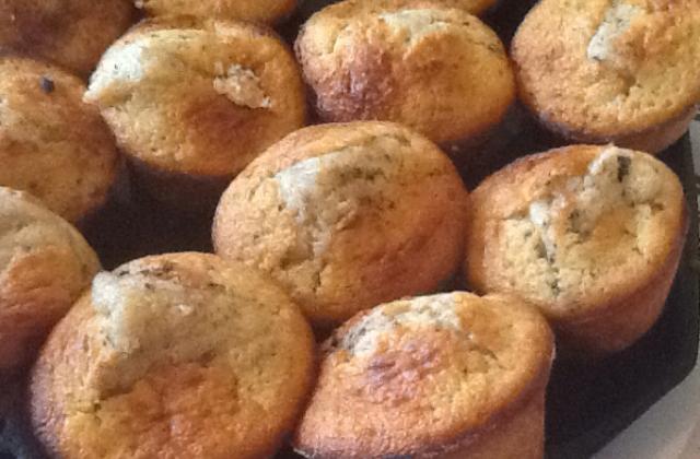 Muffins aux pommes et pépites de chocolat - Photo par lolo59