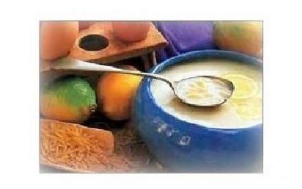 Soupe de riz au citron à la grecque - Photo par Chantalea