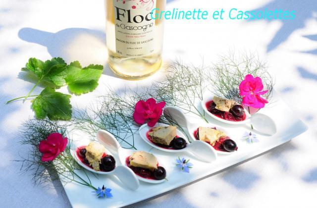 Foie gras au chutney de caseilles : tapas chics - Photo par isa-marie