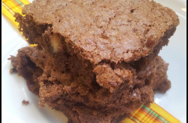 Brownie américain aux noix de pécan - Photo par Feelacuisine