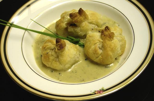 Feuilletés de veau sauce roquefort - Photo par aliceb2
