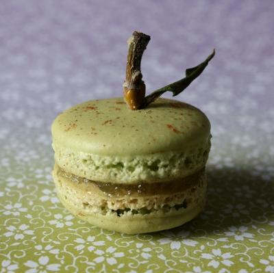 Macarons pomme-cannelle - Photo par 4hbric