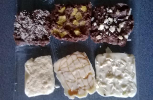 Tablette de chocolat aromatisée - Photo par lefoudl