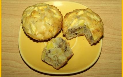 Muffins aux pommes et noix - Photo par biscottine