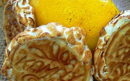 Tarte citron dentelles made in Switzeland - Photo par Chef Damien