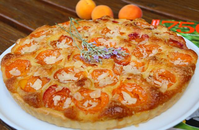 Bakewell Tart aux abricots - Photo par jackieyZ