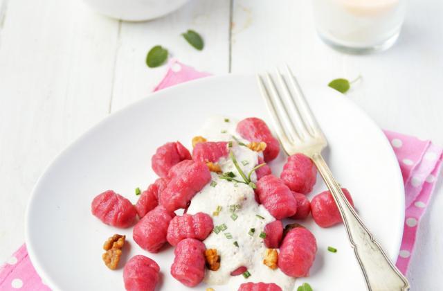 Gnocchis de betteraves - Photo par Angélique Roussel pour Soy