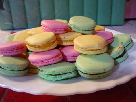 Macarons à base de meringue italienne - Photo par fannieZ