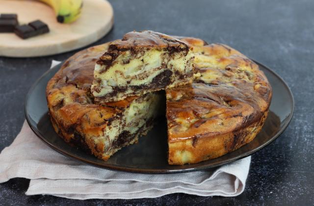 Gâteau à la banane et au chocolat - Photo par 750g
