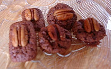 Brownies aux amandes et noix de pécan - Photo par flocheb