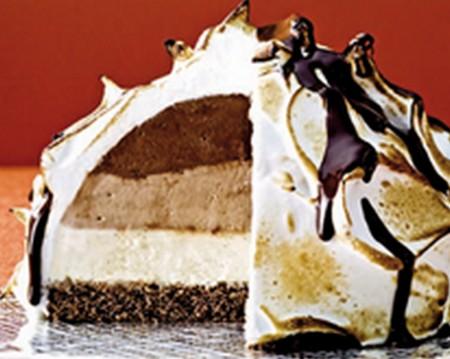 Surprise glacée au chocolat - Photo par Lindt