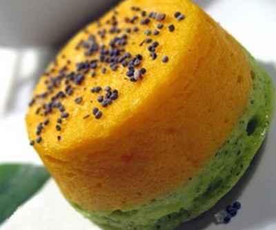 Petites terrines bicolores carottes, courgettes - Photo par nathju