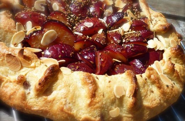 Tarte rustique aux prunes - Photo par Boljo