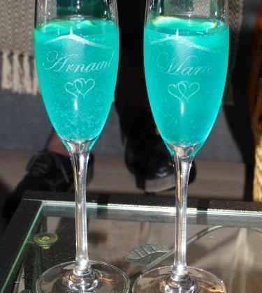 Soupe de champagne au curaçao - Photo par Arnaud6987