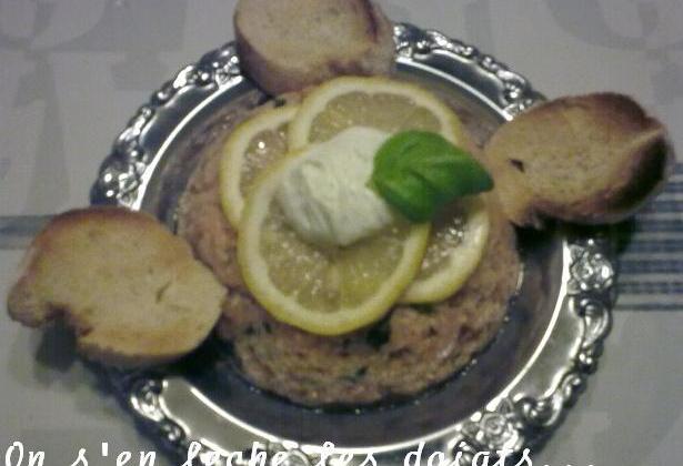 Tartare de saumon aux 5 baies - Photo par pepitavignon