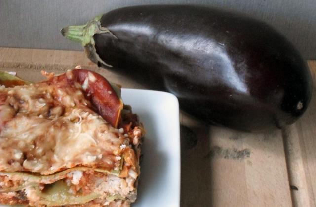 Lasagnes express au veau, légumes du soleil et ricotta - Photo par maellell