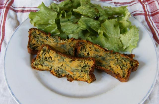 Cake épinards et patates douces - Photo par camsdu
