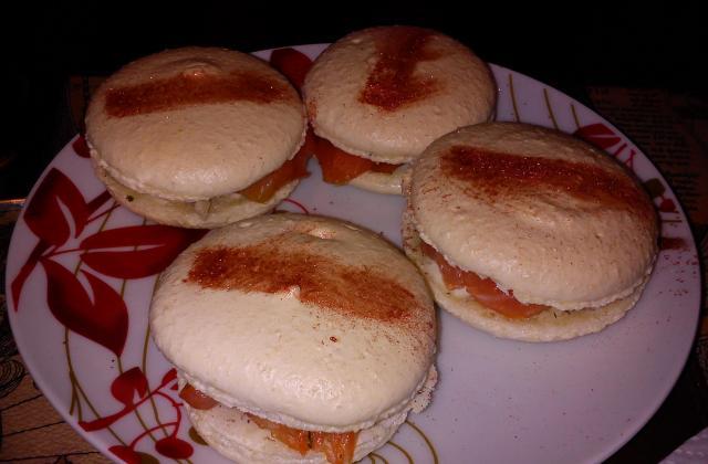 Macaron saumon fumé-tartare - Photo par birouc