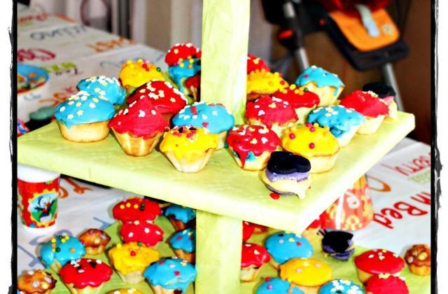 Muffins de la bande à mickey - Photo par Les douceurs d'Ema et Tom