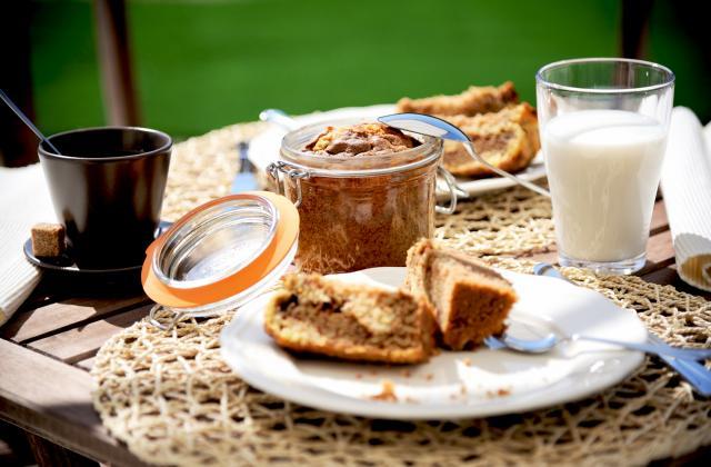 Gâteau marbré en bocal - Photo par Le Parfait