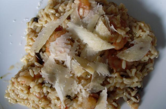 Risotto aux scampis - Photo par lilin9