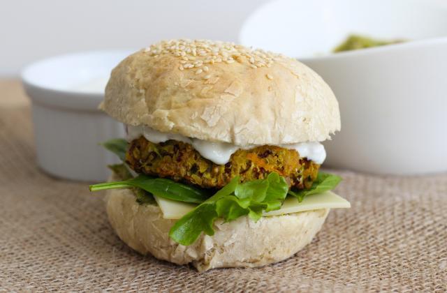 Burgers végétariens au guacamole - Photo par Lemon & Sardine