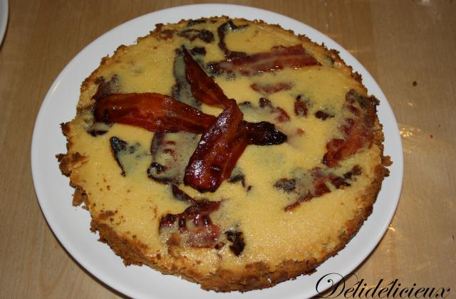 Tarte au bacon et sirop d'érable - Photo par julieanne