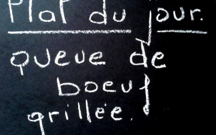 Queue de boeuf grillée - Photo par malikele