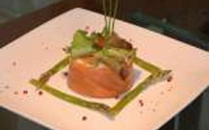 Tartares au saumon et chou-fleur - Photo par Membre_485434