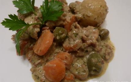Daube de veau aux carottes et olives vertes - Photo par Carmen
