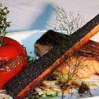 Pavé de saumon rôti à la braise - Photo par 750g