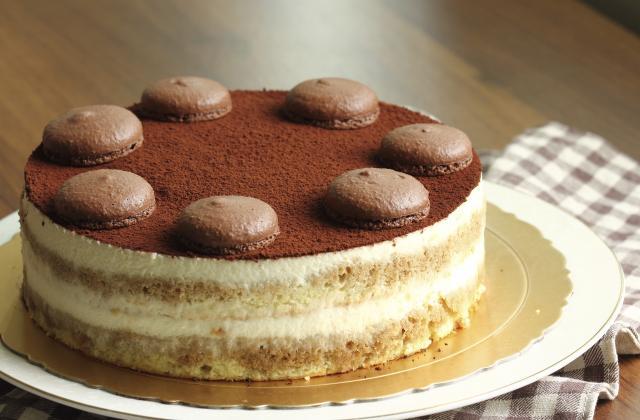 Gâteau façon tiramisu - Photo par Chef Christophe