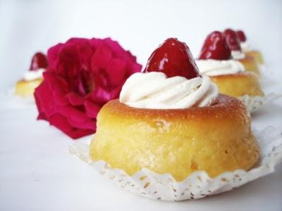 Mini savarin aux fraises - Photo par fimere2