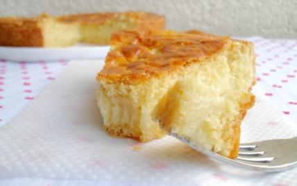 Gâteau basque à la crème pâtissière - Photo par mathildee