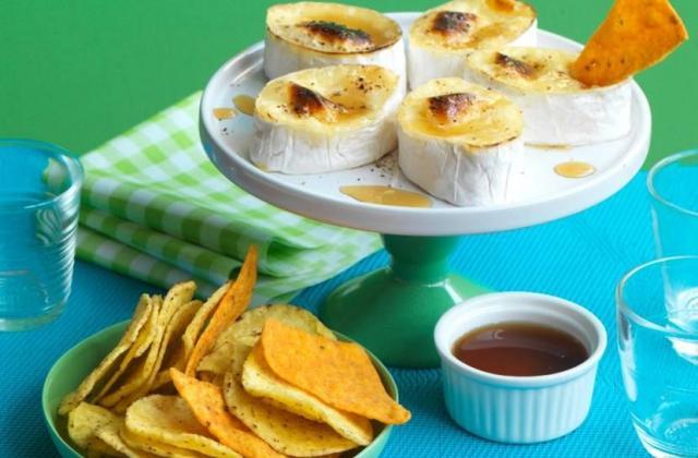 Dips de tortillas et fondue de camembert - Photo par Apéro-Style(s) 'fait maison'