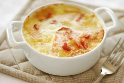 Tartiflette au fromage à raclette RichesMonts - Photo par 750g