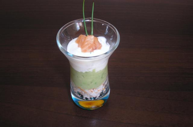 Mousse d'avocat crème et saumon - Photo par bhouda