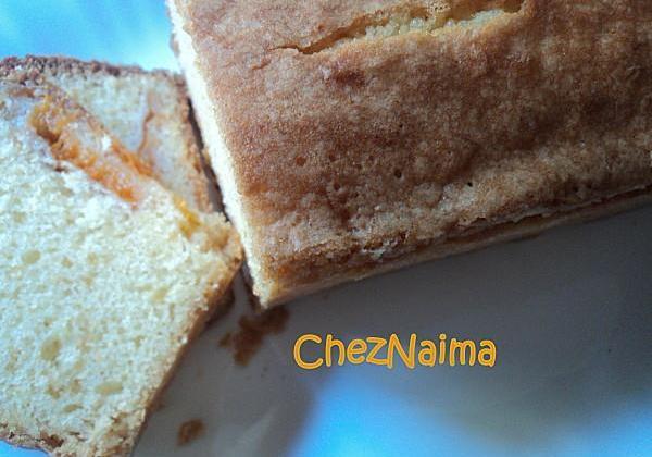 Cake aux abricots économique - Photo par cheznaima