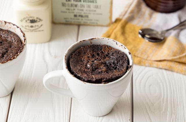 5 mug cakes 100% chocolat - Photo par 750g