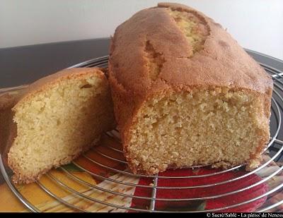 Cake au citron simple - Photo par La patiss de neness