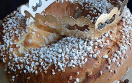 Galette des rois briochée / Twelfth Night Cake / King Cake - Photo par Anne Les Recettes Du Panier