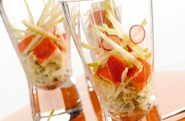 Cocktail de la mer aux bâtonnets Saveur Coraya - Photo par Coraya
