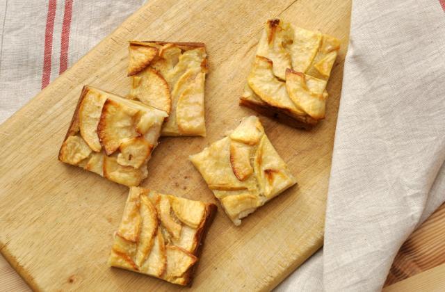 Gâteau invisible aux pommes - Photo par Pascale Weeks