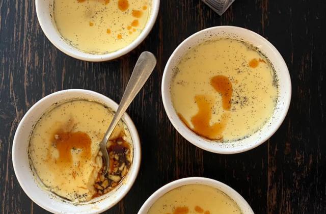 Crème caramel de Chef Damien - Photo par Chef Damien