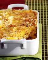 Gratin de macaronis à l'Emmental - Photo par 750g