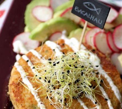 Bacalhau fishcake & Dukkah - Photo par dukkahse