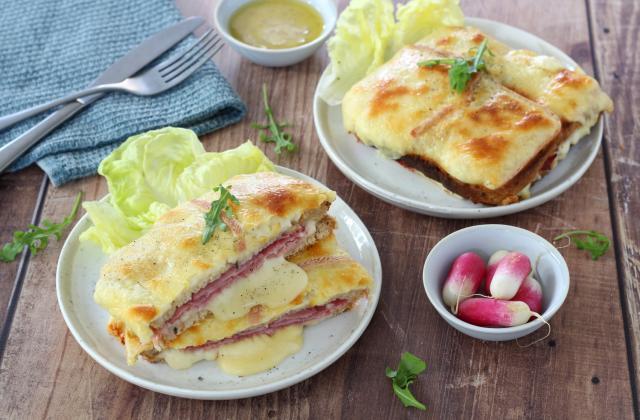 Croque-monsieur au fromage à raclette - Photo par Silvia Santucci