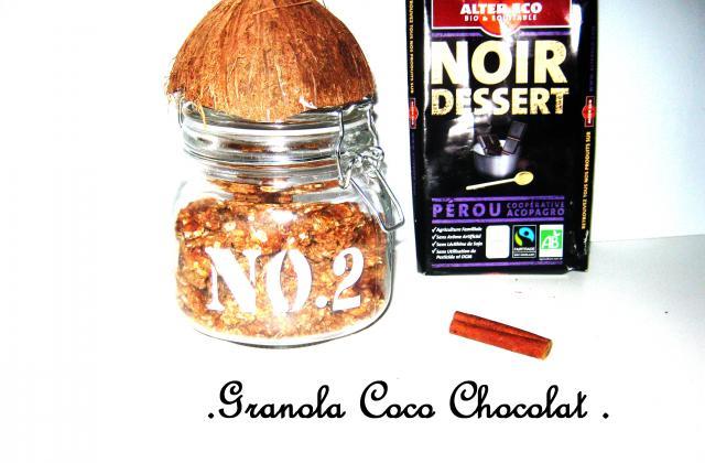 Granola coco chocolat - Photo par pollys